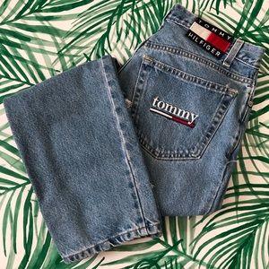 Vintage Tommy Hilfiger Distressed High Waist Jeans